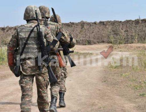 Մի շարք զինվորականներ պարգևատրվել են «Մարտական խաչ» շքանշանով