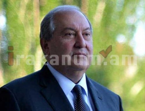 Արմեն Սարգսյանը ետ է վերադարձրել Օնիկ Գասպարյանի ազատման որոշումը