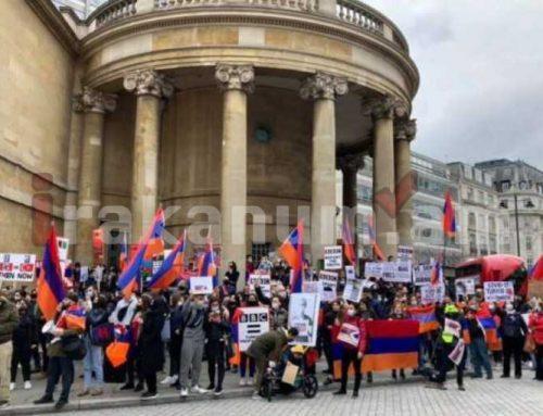Լոնդոնի հայերը BBC-ից պահանջել են ճշմարտությունն ասել Արցախում տեղի ունեցող իրադարձությունների մասին