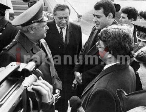 «Ժողովուրդ». Քչերը գիտեն, որ հրադադարի համաձայնագիրը ստորագրվել էր Ղարաբաղի և Ադրբեջանի միջև. Վլադիմիր Կազիմիրով
