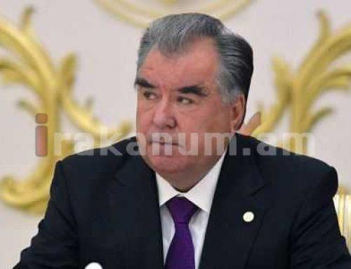 Տաջիկստանի նախագահը ցրել է երկրի կառավարությունը