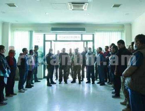 Ադրբեջանական ռազմական ագրեսիան որեւէ արդարացում չունի. Արցախի նախագահը հանդիպել է բուժանձնակազմերի հետ
