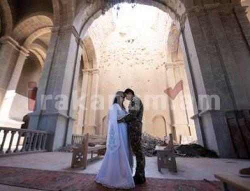 Շուշիի եկեղեցում Հովիկի և Մարիամի պսակադրությունը ուղերձ է ողջ աշխարհին. Արայիկ Հարությունյան