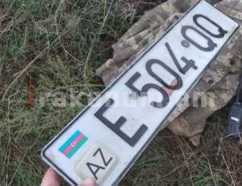 Վաղ առավոտյան թարմ ապրանք. Հովհաննիսյանը լուսանկար է հրապարակել ադրբեջանական պետհամարանիշներով մեքենայից