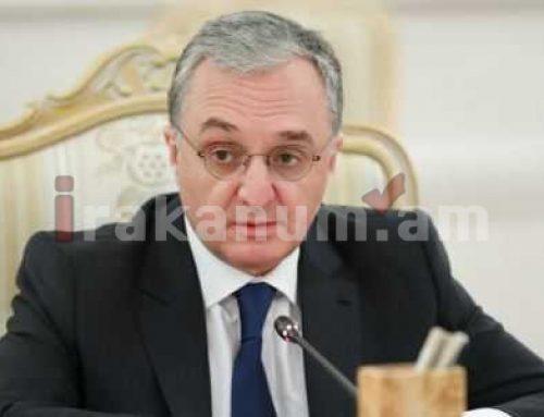 Մնացականյան. Հայաստանը շարունակում է Ղարաբաղի հարցով սերտ խորհրդակցությունները ՀԱՊԿ-ի հետ