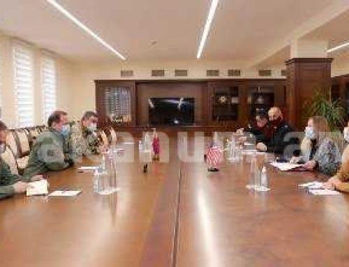 Հայկական ուժերը շարունակում են վստահորեն կատարել իրենց խնդիրները. Դավիթ Տոնոյանն ընդունել է ՀՀ-ում ԱՄՆ դեսպանին
