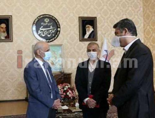 Իրանում ՀՀ դեսպանը հանդիպել է Մեջլիսի պատգամավոր Սեյեդ Մահդի Ֆարշադանի հետ