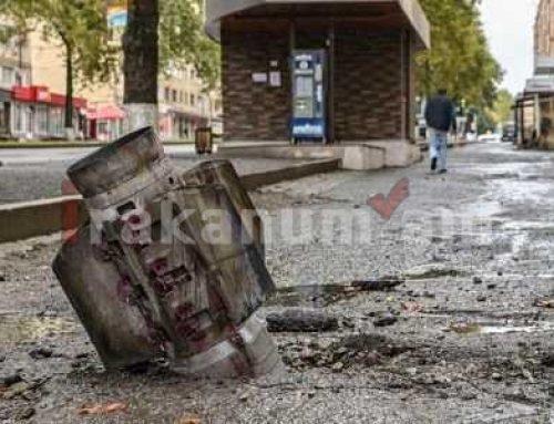 Հակառակորդը հրթիռակոծել է Մարտունու շրջանի Կարմիր Շուկա համայնքը. զոհվել է մեկ խաղաղ բնակիչ. Արցախի ԱԻՆ
