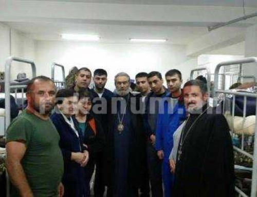 Արցախի թեմի Առաջնորդ Պարգեւ արքեպիսկոպոս Մարտիրոսյանը կրկին զինվորական հոսպիտալում է