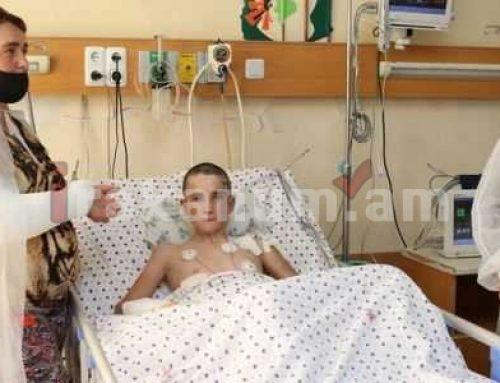 Մարտակերտում հրետակոծումից ծայրահեղ ծանր վնասվածքներ ստացած 13-ամյա Ռոբերտի առողջական վիճակը կայուն է․ ԲԿ խոսնակ