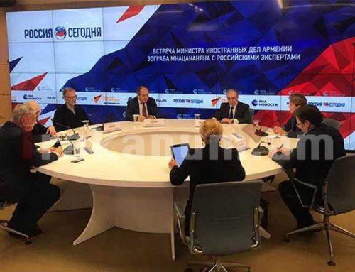 Զոհրաբ Մնացականյանը ռուս փորձագետների հետ հանդիպմանը շեշտել է Ադրբեջանի կողմից պատերազմի վարման ոչ իրավաչափ մեթոդների խնդիրը