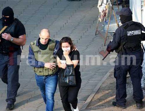 Ահաբեկչի կողմից Վրաստանի բանկում վերցված բոլոր պատանդներն ազատ են արձակվել