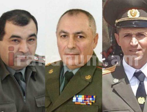 Արմեն Սարգսյանի հրամանագրերով՝ Տիրան Խաչատրյանը, Անդրանիկ Փիլոյանն ու Գարեգին Պողոսյանն արժանացել են Հայաստանի Ազգային հերոսի կոչման