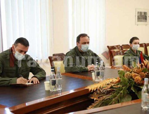 ՀՀ-ում ԻԻՀ դեսպանության ռազմական կցորդն այցելել է պաշտպանության նախարարություն