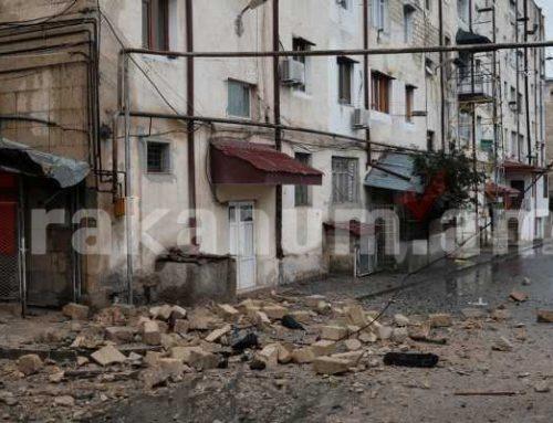 Ստեփանակերտում իրավիճակը հանգիստ է. հարակից տարածքներից լսվում են պայթյունի ձայներ