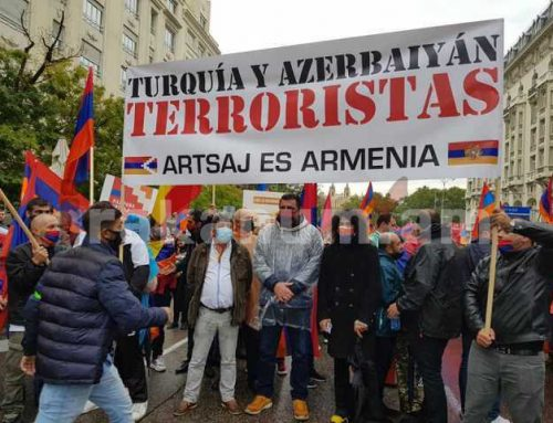 Մադրիդում հանուն Արցախի հուժկու ցույցին իրենց աջակցությունն են հայտնել Իսպանիայի պատգամավորները