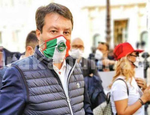 Իտալիայի նախկին փոխվարչապետ, սենատոր Մատեո Սալվինին միացել է հայերի բողոքի ակցիային