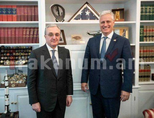 Ակնհայտ տարբերությունները Հայաստանի և Ադրբեջանի ԱԳ նախարարների հետ հանդիպումների մասին Օ'Բրայենի գրառումներում