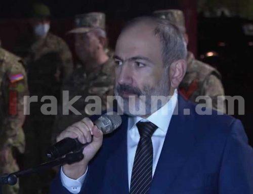 Այսօր ելույթ ունեցա հայրենիքի պաշտպանությանը զինվորագրված գումարտակի առաջ
