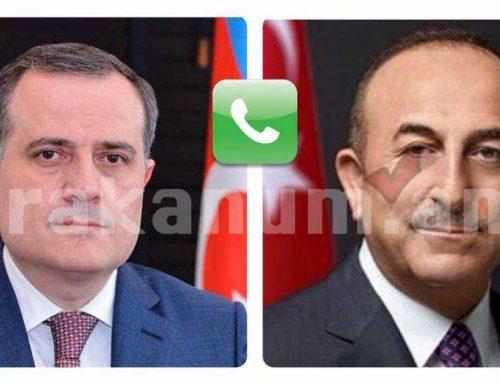 Ադրբեջանի եւ Թուրքիայի արտգործնախարարները քննարկել են իրավիճակը Ղարաբաղում