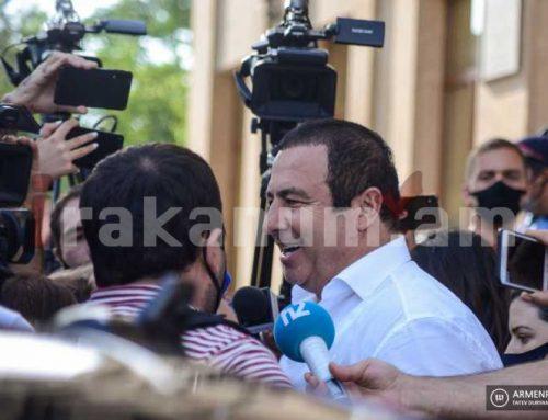 Գագիկ Ծառուկյանի նկատմամբ գրավը՝ որպես խափանման միջոց ընտրելու դատական նիստը հետաձգվել է, այն կկայանա հոկտեմբերի 22-ին