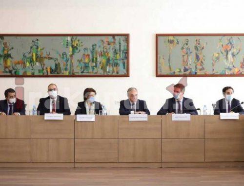 Զոհրաբ Մնացականյանը հանդիպել է Ֆրանսիայի Ազգային Ժողովի պատգամավորների հետ