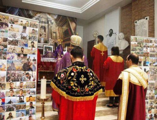 Հռոմի Ս․Նիկողայոս եկեղեցում մատուցվել է պատարագ` ի հիշատակ արցախյան պատերազմում նահատակվածների