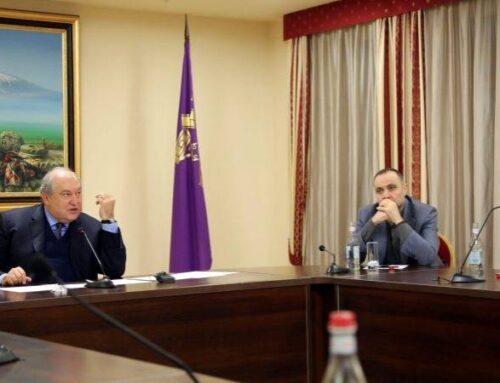 Յուրաքանչյուր հայ Հայաստանի մասին պետք է մտածի՝ որպես իր տան. ՀՀ նախագահը՝ ռուսաստանահայ համայնքին