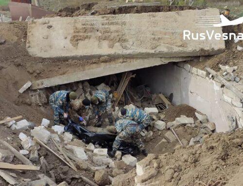 Ռուս խաղաղապահները յուրաքանչյուր կողմի 2000-ական դիակներ են դուրս բերել Շուշիից. «RVvoenkor» տելեգրամյան ալիք