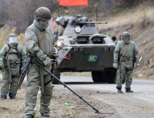 Խաղաղապահները Լեռնային Ղարաբաղում ականազերծել են ավելի քան 2 հա վտանգավոր տարածք. ՌԴ ՊՆ
