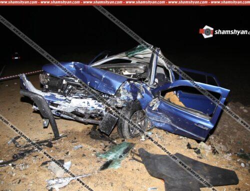 Խոշոր ավտովթար Արագածոտնի մարզում. ճակատ-ճակատի բախվել են 2 Volkswagen Vento-ներ. 7 վիրավորներին, որոնցից մի քանիսը ծանր վիճակում են, ավտոմեքենաներից դուրս են բերել փրկարարներն ու քաղաքացիները