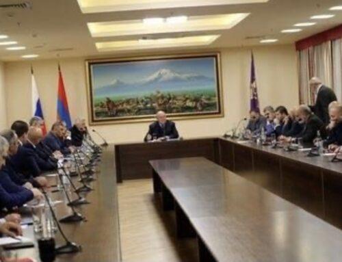 Կառավարությունը, որը հանգեցրել է սրան, պետք է գնա. Արմեն Սարգսյանը հանդիպել է ռուսաստանաբնակ հայերի հետ