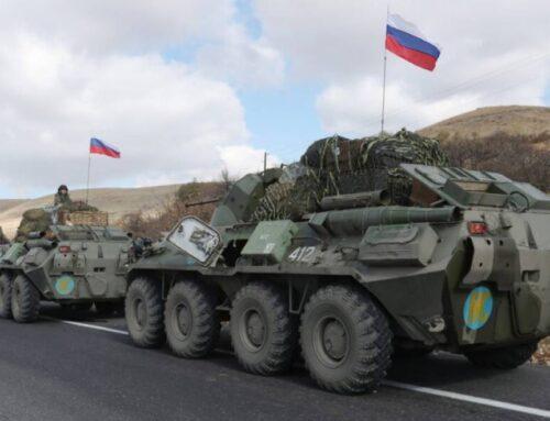Ռուս խաղաղապահների հերթական խումբը Ղարաբաղ է ժամանել Ադրբեջանի տարածքով