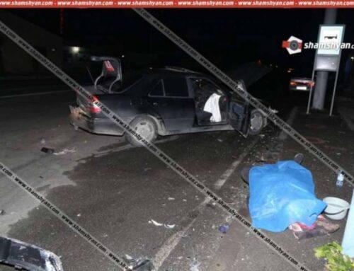 Երևանում Range Rover-ը բախվել է Mercedes-ին. ուղևորներից մեկը տեղում մահացել է