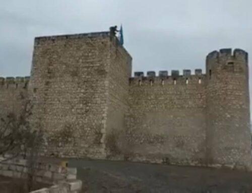 Տիգրանակերտի վրա ադրբեջանական դրոշն է ծածանվում