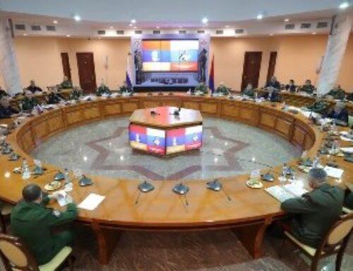 Տեղի է ունեցել ՀՀ և ՌԴ պաշտպանության նախարարների գլխավորած պատվիրակությունների հանդիպումը