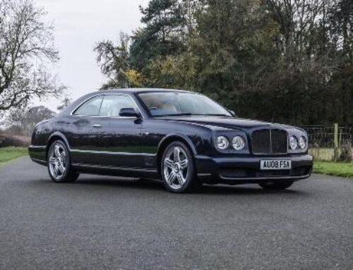 Bentley Brooklands հազվագյուտ կուպեն աճուրդի կհանվի