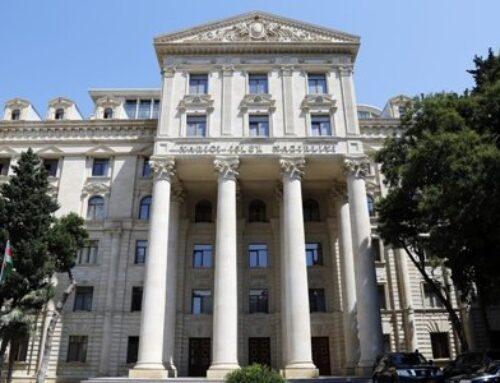 Ֆրանսիայի դեսպանը կանչվել է Ադրբեջանի ԱԳՆ ԼՂ հարցով Սենատի որոշման պատճառով
