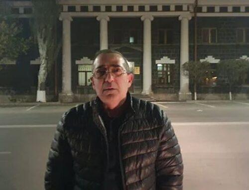 Հացադուլ Գյումրիում. դպրոցի տնօրենը պահանջում է վերականգնել իր հպարտությունը