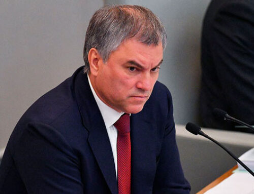 Վյաչեսլավ Վոլոդինը քաղաքական գործիչներին հորդորել է լուծել Ղարաբաղյան խնդիրը