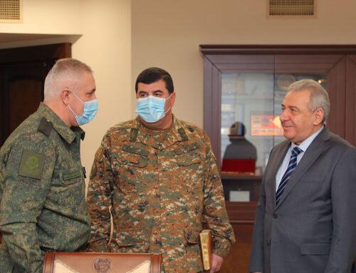 Մուրադովը Հարությունյանին է ներկայացրել ՌԴ խաղաղապահ առաքելության իրականացման ընթացքը
