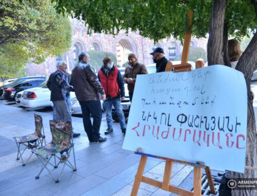 2008-ին զոհված Անդրանիկ Կիրակոսյանի մայրը միացել է հացադուլին․ Գեղամ Մանուկյան