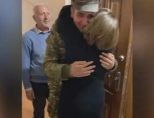 67 օր լուր չունենալուց հետո զինվորը վերադարձավ տուն. Տեսանյութ