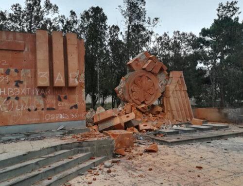 Ադրբեջանցիները պղծել են Թալիշում գտնվող հայկական հուշարձանները (լուսանկարներ)