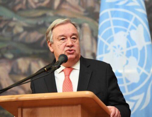 ՄԱԿ-ի գլխավոր քարտուղարը Հայաստանին և Ադրբեջանին կոչ է արել վերսկսել բանակցությունները ԵԱՀԿ Մինսկի խմբի հովանու ներքո