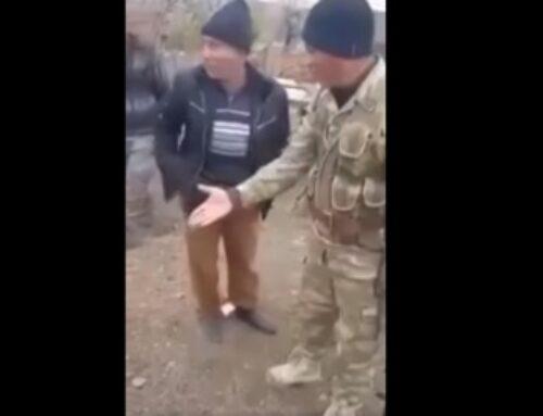Տեսանյութ․ Թուրք զինվորականը հայհոյում է հայ գյուղացիներին և վտարում նրանց գյուղից