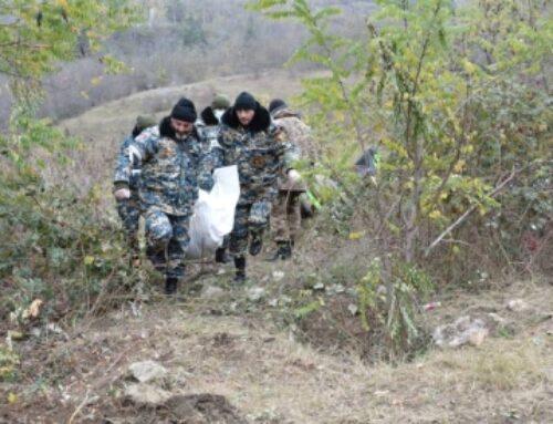 Փրկարարները զոհվածների մարմինների որոնման աշխատանքներ են իրականացնում Հադրութի շրջանում
