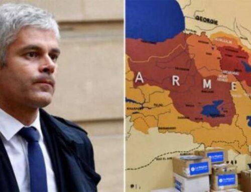 Թուրքերին զայրացրել է, որ ֆրանսիացի գործիչը տարածել է պատմական Հայաստանի քարտեզը