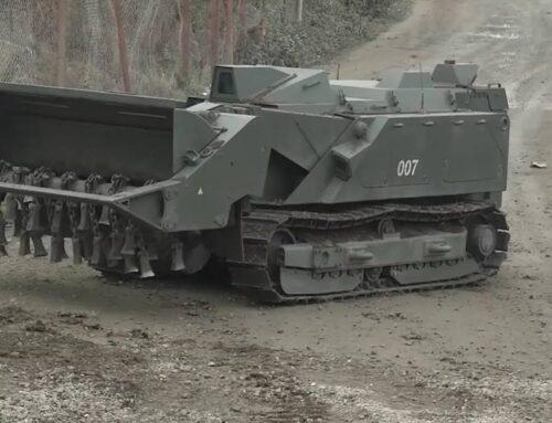 Լեռնային Ղարաբաղում օգտագործել են «Ուրան-6» ականազերծող ռոբոտ