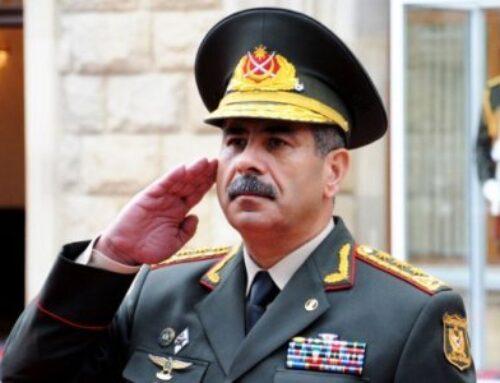 Ադրբեջանի ՊՆ ղեկավարը հանդիպել է Ղարաբաղում ռուս խաղաղապահների հրամանատարի հետ